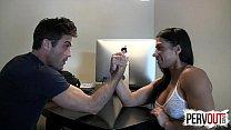 Arm Wrestling for Anal PEGGING LANCE HART ALEXIS RAIN