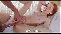 Tiny4K - Tiny redhead Dolly Little has her drip...