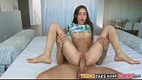 Cute petite teen takes huge cock Tali Dova
