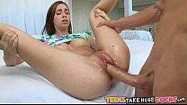 Cute petite teen takes huge cock Tali Dova 5 63