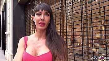 GERMAN SCOUT - FIT BIG TITS SPANISH MILF SOFIA FUCK FOR CASH AT REAL STREET CASTING