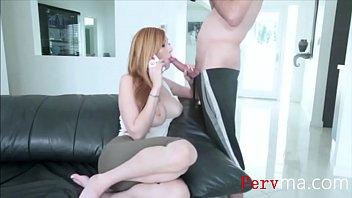 REDHEAD mom grants me her pussy